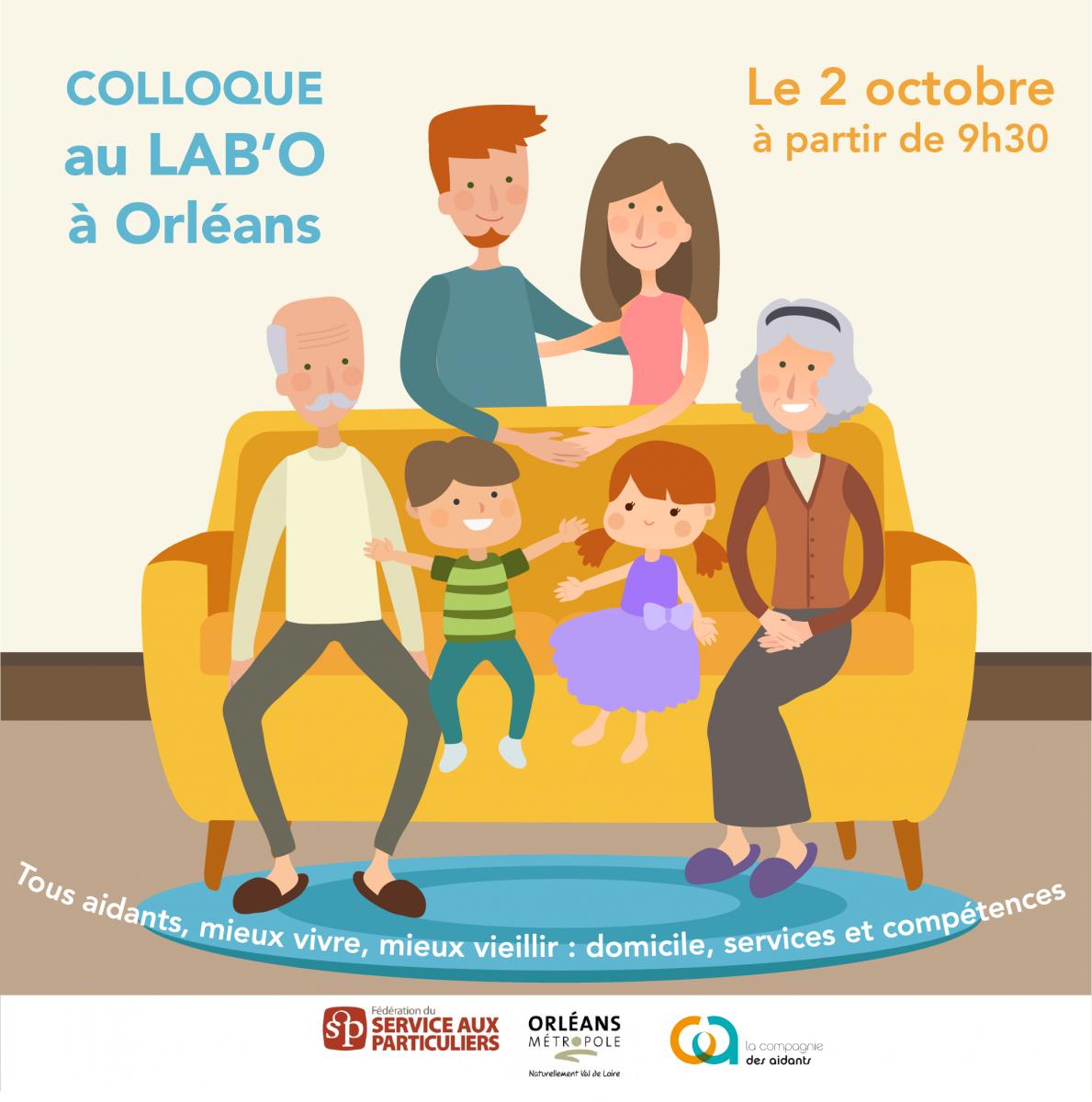 Rendez-vous au LAB'O d'Orléans le 2 octobre