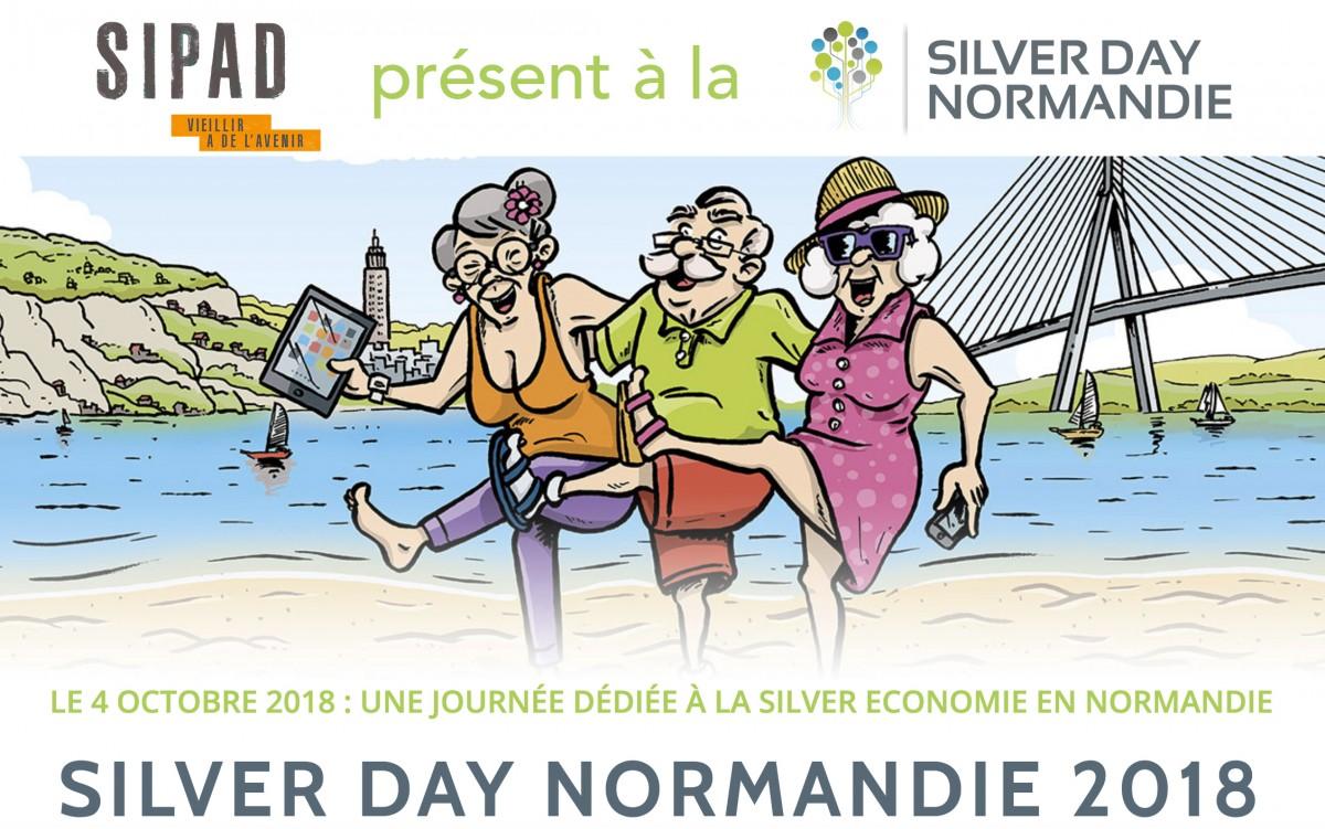 Le SIPAD à la SILVER DAY NORMANDIE le 4 octobre